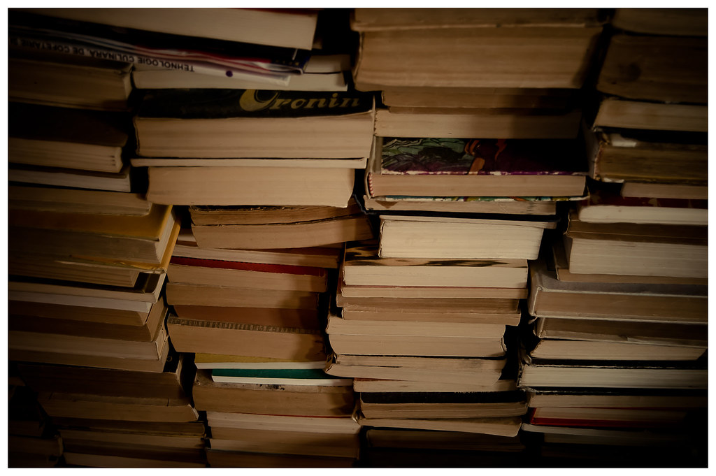 "Stack of books. Image attribution: <p style=""font-size: 0.9rem;font-style: italic;""><a href=""https://www.flickr.com/photos/50952846@N08/5687330321"">""Stacks of Books.""</a><span>by <a href=""https://www.flickr.com/photos/50952846@N08"">Andrei.D40</a></span> is licensed under <a href=""https://creativecommons.org/licenses/by-nc/2.0/?ref=ccsearch&atype=html"" style=""margin-right: 5px;"">CC BY-NC 2.0</a><a href=""https://creativecommons.org/licenses/by-nc/2.0/?ref=ccsearch&atype=html"" target=""_blank"" rel=""noopener noreferrer"" style=""display: inline-block;white-space: none;opacity: .7;margin-top: 2px;margin-left: 3px;height: 22px !important;""><img style=""height: inherit;margin-right: 3px;display: inline-block;"" src=""https://search.creativecommons.org/static/img/cc_icon.svg"" /><img style=""height: inherit;margin-right: 3px;display: inline-block;"" src=""https://search.creativecommons.org/static/img/cc-by_icon.svg"" /><img style=""height: inherit;margin-right: 3px;display: inline-block;"" src=""https://search.creativecommons.org/static/img/cc-nc_icon.svg"" /></a></p>"